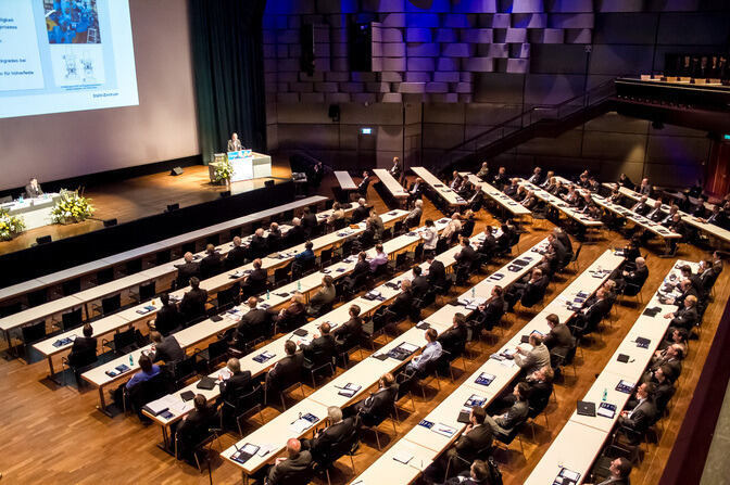 Plenary hall of ASK Metal Forming Conference
