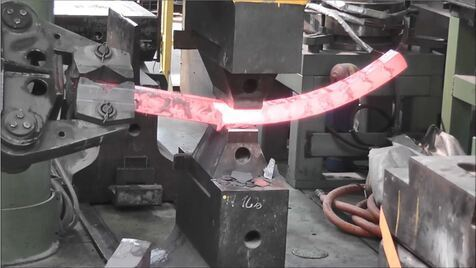 Forging and bending