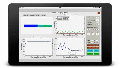 STOFF - Fast forging models for process design